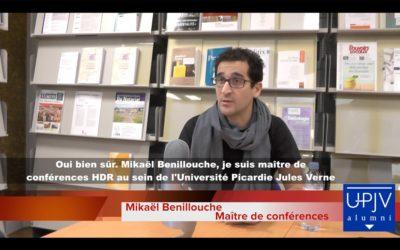 """Notre Directeur des Études Mikaël Benillouche présente ses différentes activité avant-goût de sa """"Chronique…"""
