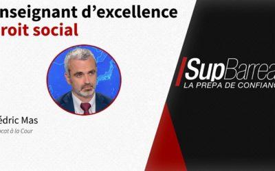 ️ Notre équipe pédagogique du campus aixois se renforce avec Me Cédric Mas, avocat,…
