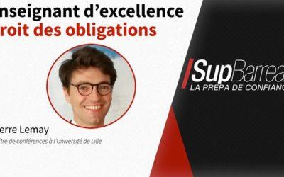 Notre équipe pédagogique du campus de Lille se renforce avec Pierre Lemay, maître de…