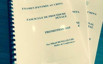 Nos étudiants récupèrent progressivement leurs fascicules pour être prêts pour la session estivale !… – 2015-06-16T12:51:37+0000